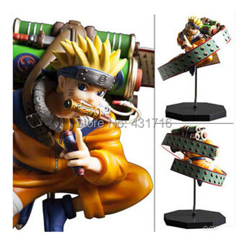Naruto Figure Japan Animation Uzumaki Revival Sharingan PVC PAINTING COLLECTION FIGURE - Hello Shop store