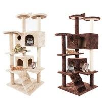 Cat Climbing Tree Board Sisal Hemp Plush Kitten Scratch Hanging Toy for Cat Pet Toys Household Pets Accessories