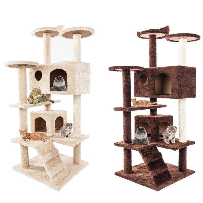 Chat escalade arbre planche Sisal chanvre peluche chaton Scratch suspendu jouet pour chat Pet jouets ménage animaux accessoires