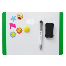 ACEHE Waterproof whiteboard Soft Margin Flexible Mini Magnetic A4 Whiteboard home office use Refrigerator Memo Pad
