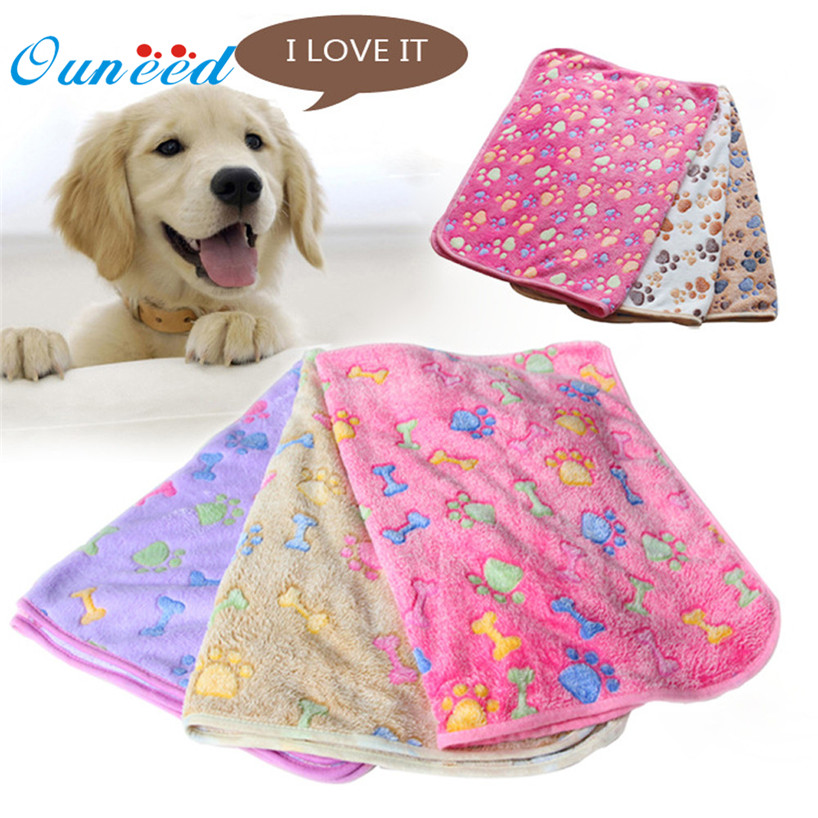 My House Creative Hot! Hamsters Pad Blanket Pet Cat Mat Dog Puppy Warm Bed Paw Coral Fleece Cover Drop Shipping             Mar1