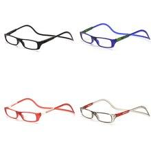 Портативный складные очки для чтения 150/200/250/300 градусов очки увеличительные стекла Сверхлегкий пресбиопические очки