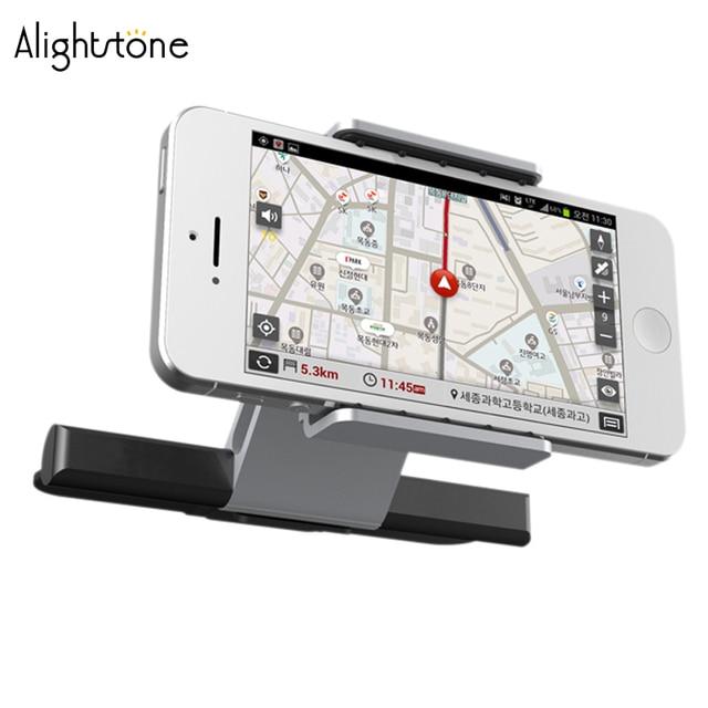 Alightstone 범용 자동차 휴대 전화 홀더 cd 슬롯 마운트 크래들 아이폰에 대한 모든 3.5 5.5 인치 전화 삼성