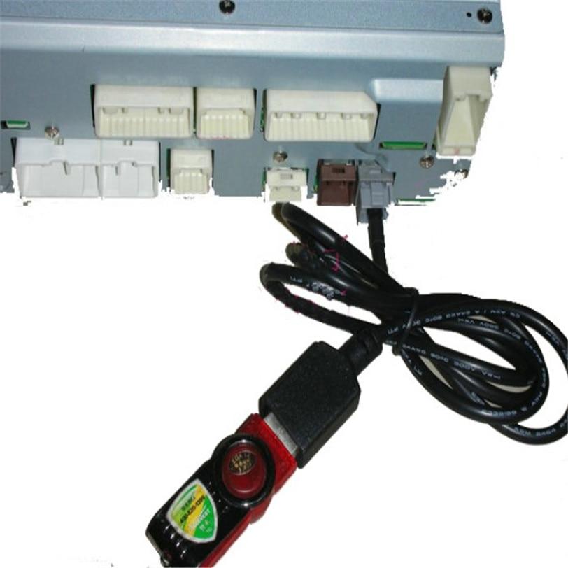 USB аудио адаптер женщина кабель для Toyota Camry Venza Yaris новый автомобиль-Стайлинг автомобили автомобильные аксессуары