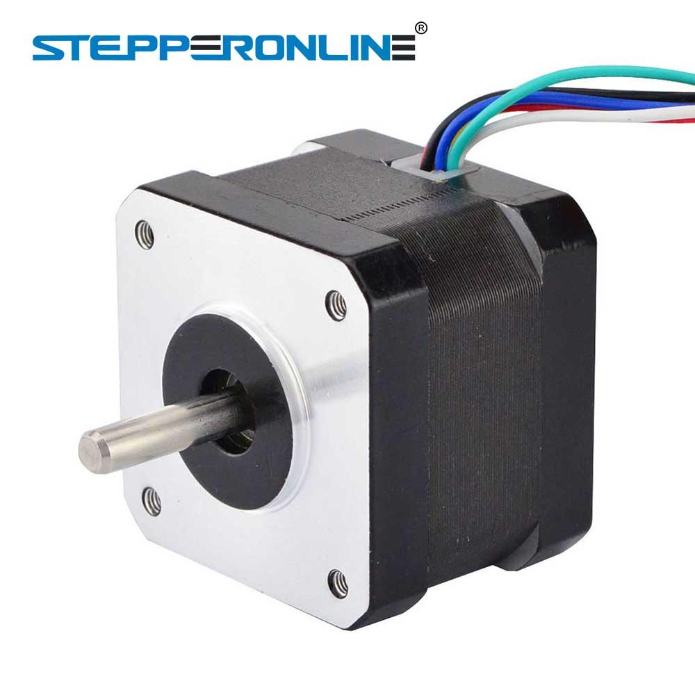 0 9deg unipolar nema 17 stepper motor 16ncm 22 7oz in 0 31a 42x42x34mm 6 lead nema17 step motor in stepper motor from home improvement on aliexpress com  [ 1000 x 1000 Pixel ]
