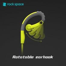 ROCKSPACE Y6 Sport Earphone Portable Sports Headset with Mic Earbud  Sweatproof Headphones for iPhone 6 iPod Samsung
