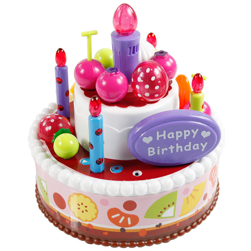 Baylor Star Musical Birthday Cake Candles Lit Childrens Play House Toys Freedom Of Assembly Recording In Model Building Kits From Hobbies On