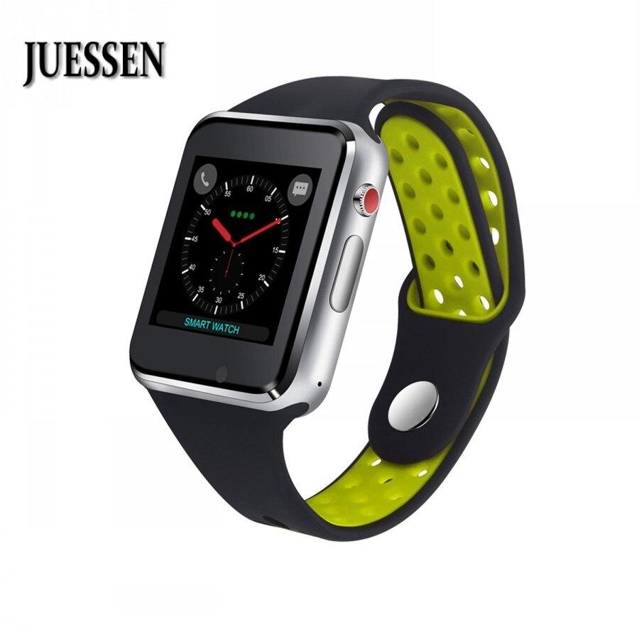 JUESSEN M3 Smart Uhr Mit Passometer Kamera Sim-karte Anruf Bluetooth Smart uhr Für Android-Handy iPhone VS gt08 A1 DZ09