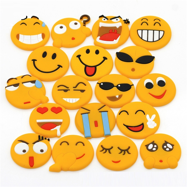 Cartoon Faces Emoji Expression Fridge Magnet Decor Personality