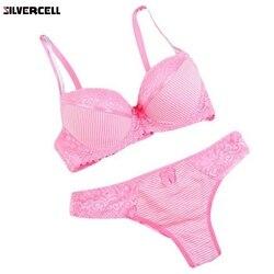Liva Girl роскошный кружевной комплект нижнего белья пуш-ап сексуальный женский бюстгальтер комплект женского белья цветочное прелестное нижн... 3