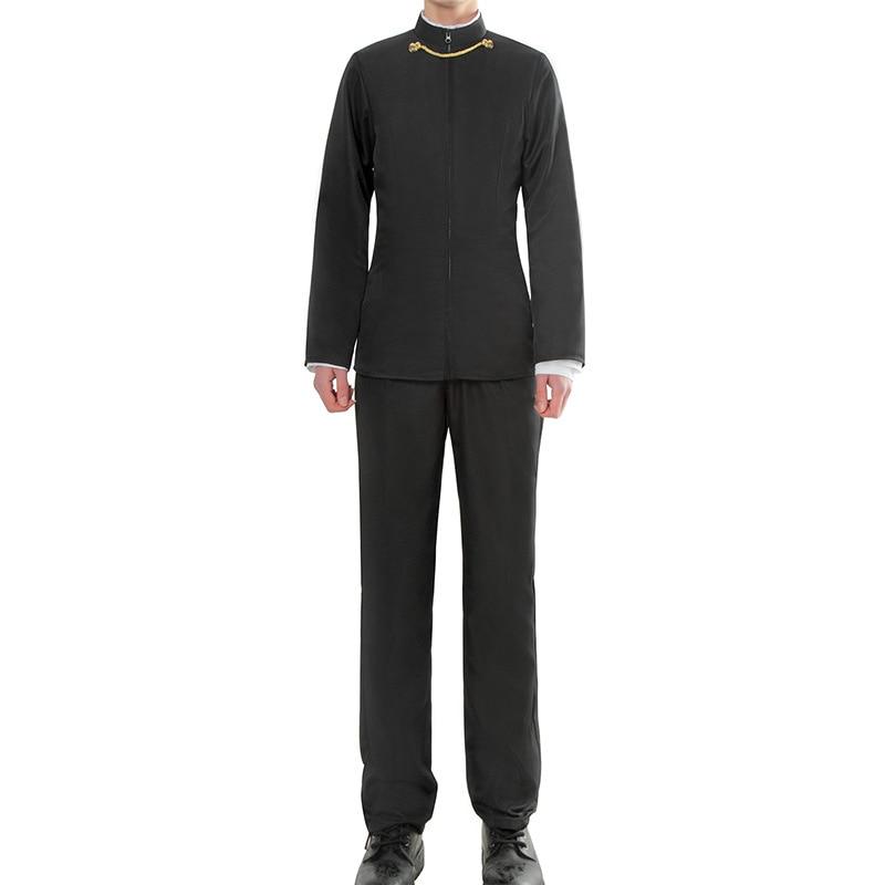 Kaguya-sama: Love Is War Shirogane Miyuki Cosplay Costume Men's Black uniform Suit