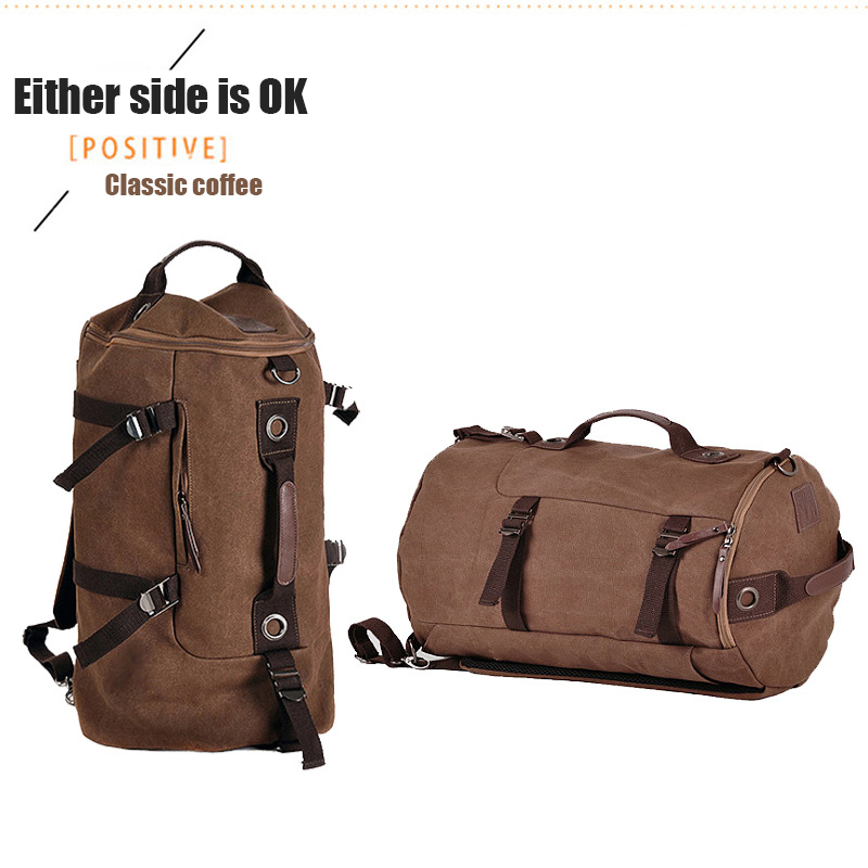 JIULONG Men backpack Large Capacity Travel bag school Backpack bags Multifunctional Bags Male Laptop Canvas leather Backpacks men s casual bags vintage canvas school backpack male designer military shoulder travel bag large capacity laptop backpack h002