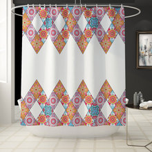 180x180cm High Quality Shower Curtains Modern Style Waterproof Products Bathroom Decor with Hooks