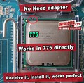 INTEL XEON E5450 3.0 ГГц/12 М/1333 МГц/CPU равна LGA775 Core 2 Quad Q9650 ПРОЦЕССОР, работает на LGA775 платы нет необходимости адаптер