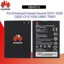 Hua Wei oryginalna bateria telefonu HB4W1 dla Huawei Ascend Y210 Y210C G510 G520 G525 C8813 C8813Q T8951 U8951D 1700 mAh