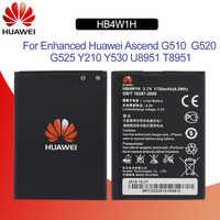 Hua Wei Original Telefon Batterie HB4W1 Für Huawei Ascend Y210 Y210C G510 G520 G525 C8813 C8813Q T8951 U8951D 1700 mAh