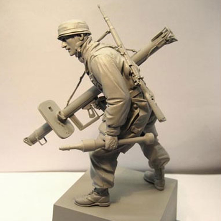 1/16 Figure Resin Model Kits WWII Military Scene Historical Resin Figures Unpainted 144G