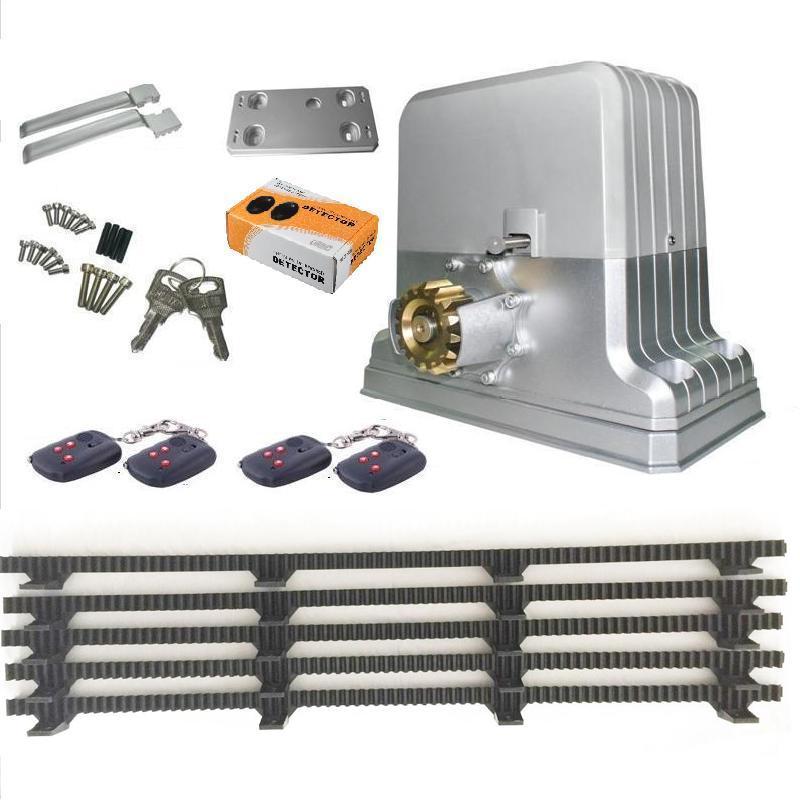 kraftig 1800 kg elektrisk automatisk skyvedørsåpnermotor 5 Nylon - Sikkerhet og beskyttelse - Bilde 2