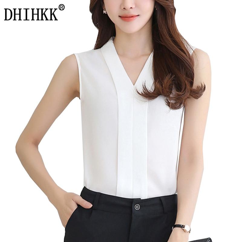 DHIHKK Official Store DHIHKK 2017 Summer Shirts Vetement Femme Chiffon Blouse Blusas  Mujer Plus Size Women Clothing Ladies Shirt Women Blouses