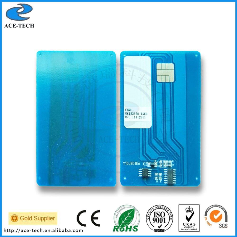 Toner cartridge chip for OKI B2500 B2520 B2540 smart card chip reset laser printer 9004391 4K
