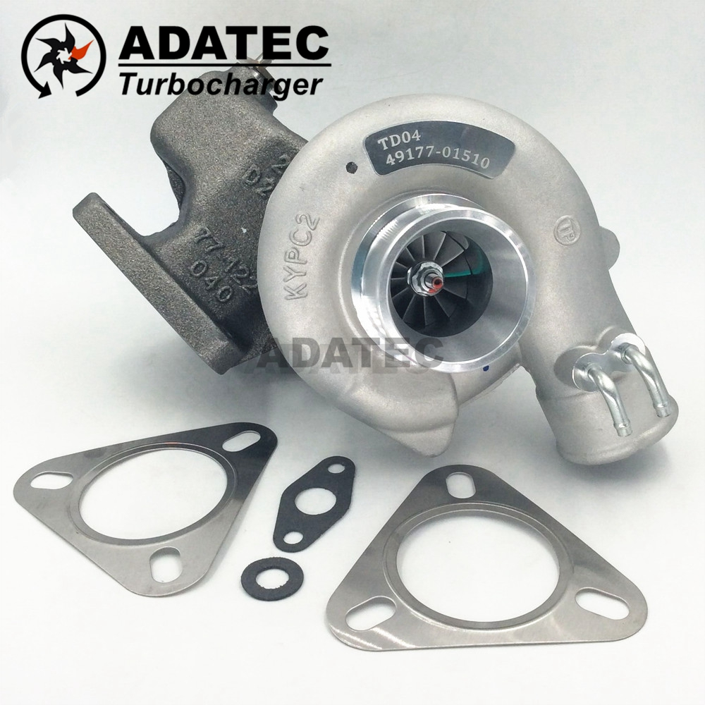New Turbo TD04 49177-01501 4917701501 49177-01510 49177-01500 Turbocharger MD168054 For Mitsubishi Pajero I 2.5 TD 95 HP 4D56T