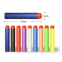 10pcs / lot Toy Gun Luminous Bullets til Nerf Series Blasters Refill Clip Darts EVA Soft Bullets 7.2x1.3CM