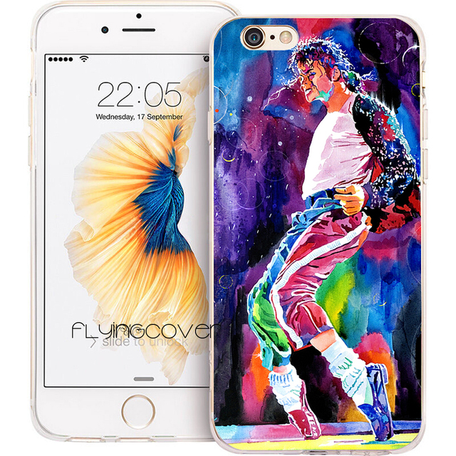 coque iphone 8 plus michael jackson