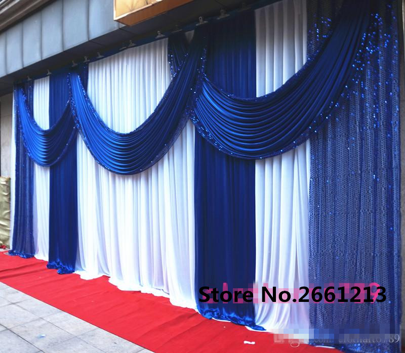 Online buy wholesale church stage backdrops from china for Backdrop decoration for church