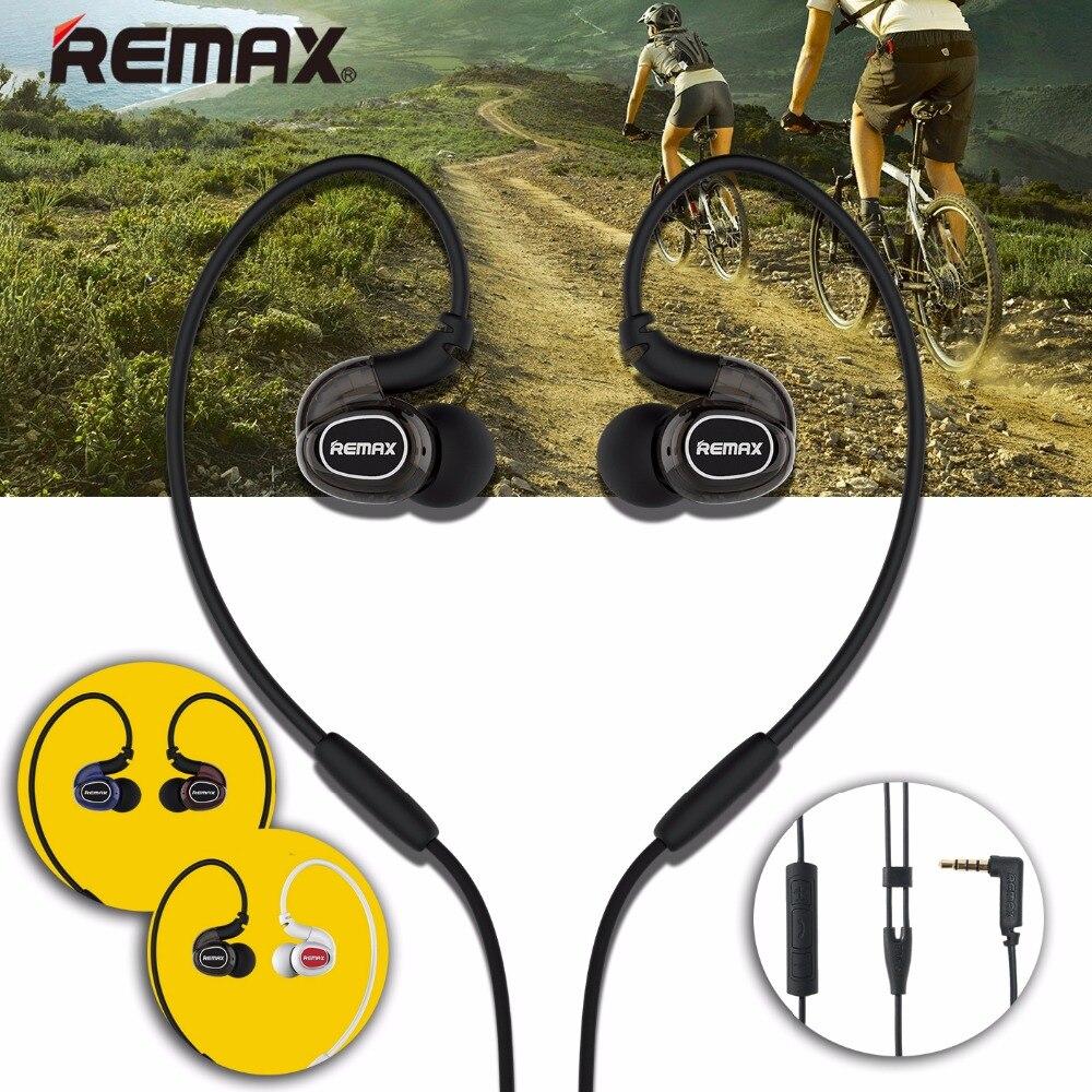 D'origine REMAX Course à Pied Coude Neckband Écouteur Bruit Annuler La Fièvre Classe Légendaire Musique Casque Casque avec HD Mic