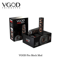 100% Original Vape VGOD Pro Mech Mod Hybrid 510 Connection High Quality mechanical Mod USA fashion Electronic Cigarettes VS SMOK