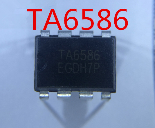 Free Shipping  100%  New   TA6586   6586 DIP-8