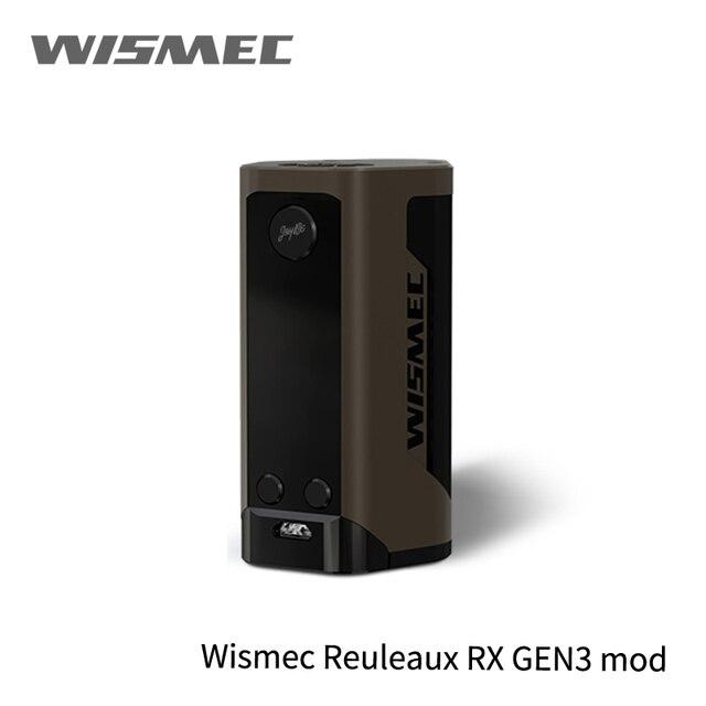 В наличии! Большая распродажа оригинальный wismec reuleaux RX GEN3 Mod дополнительно не гном распылитель 300 W поле MOD Vape комплект WM катушкой VS перетащите MOD