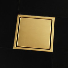 9dd6c2b5eae67 Popular Shower Drain Bathroom Gold-Buy Cheap Shower Drain Bathroom ...