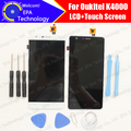Oukitel K4000 ЖК-Дисплей + Touch Screen Digitizer 100% Оригинал Новый ЖК-Экран Стеклянная Панель в Сборе Для Oukitel K4000 5.0''