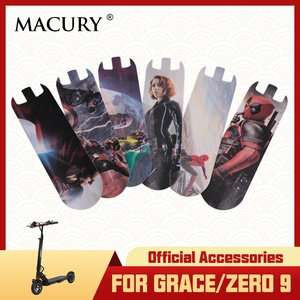 Macury Sticker only for Grace 9 and Zero 9 Zero9 T9 Non-Slip Decal Sandpaper coated abrasive paper Anti-slip tape(China)