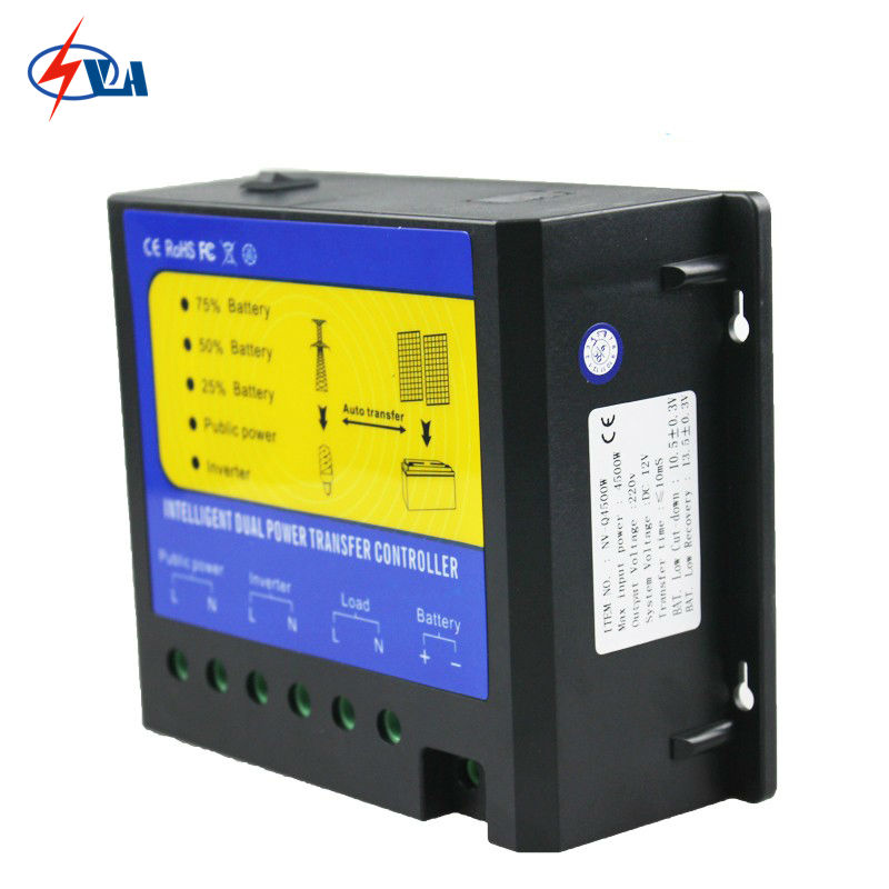 ФОТО NV-Q4500W-481 Intellgent Daul Power Transfer Controller 4500W 110V AC System Voltage 48V For Home Use