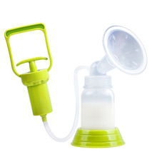 Yooap Maternal lactation milk lotion anti-overflow milking machine Syringe hand-operated manual silicone breast pump