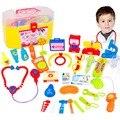 30 Unids/set Pretend & Play Set Médico con el Estetoscopio y el Médico del Equipo de Juguetes Educativos