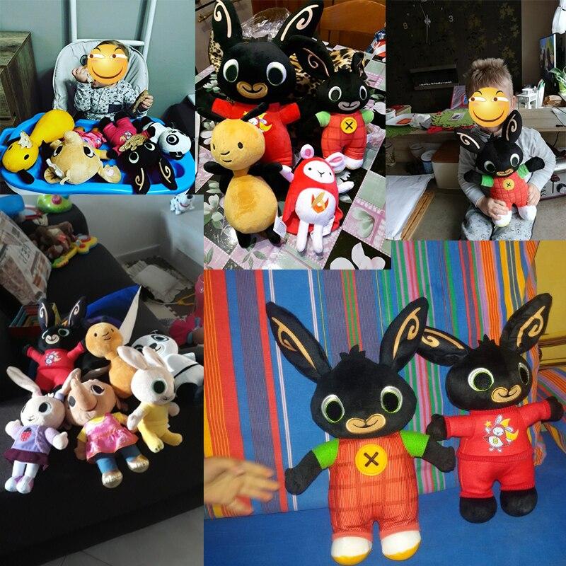 Wholesale Bing Bunny Plush Toy Sula Flop Hoppity Voosh Pando Doll Peluche Dolls Toys Children Birthday Gifts