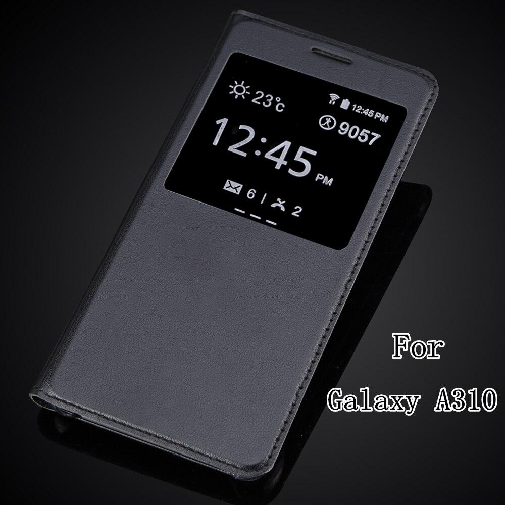 88a31171f55 Calidad superior L Uxury clásico cuero ultra delgado pu Funda para ventana Para  Samsung Galaxy ...