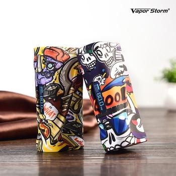 Vapor Storm – Box Pro Mod 80W ABS Graffiti couleur Variable, puissance TC 510, Cigarette électronique, sans 18650