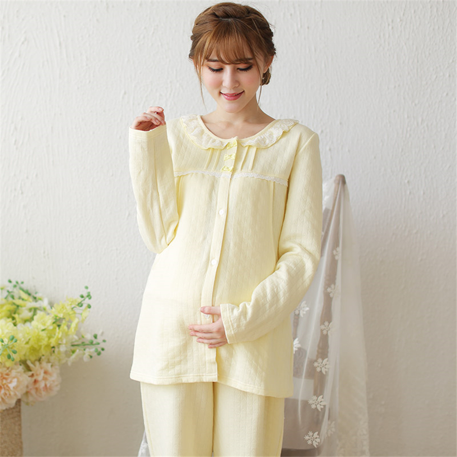 Breastfeeding Summer Maternity Pajamas Nursing Clothes For Pregnant Thicken Fashion Cotton Casual  Clothes Nursing 50M0006 8mm tube to 8mm tube plastic pipe coupler straight push in connector fittings quick fitting