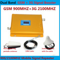 Dual Band GSM 3G Repeater GSM 900 MHz 2100 MHz W-CDMA UMTS 3G Antenna Signal Amplifier Repetidor 2G 3G Mobile Phone Booster Sets