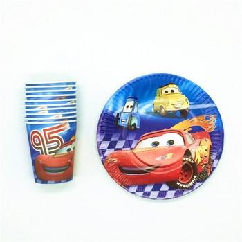 Heiße Verkäufe 20 Teilelos Disney Autos Thema Blitz Mcqueen Design Kinder Geburtstag Party