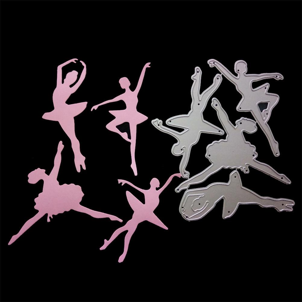 3 Styles Circles Ballerina Butterfly Series Cutting Dies Set For Diy Card Stencil Scrapbooking Invitation Die Cut Paper Card