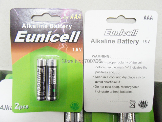 Top Fashion Sale 700packs X 2pcs Blister Pack Aaa Battery Aaa Lr03