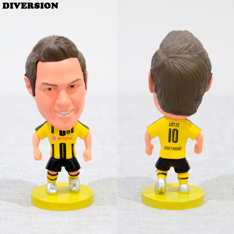 DIVERSION dolls figurine football stars GOTZE 16-17 BVB Movable joints resin model toy action figure dolls collectible gift