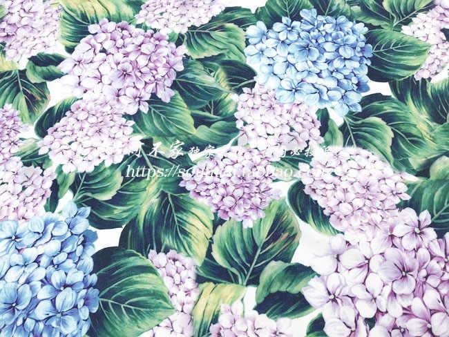 66f5c0a3c0f45 Detail Feedback Questions about DG spring Hydrangea dress fabric ...