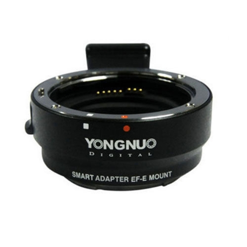 YONGNUO Camera Smart Adapter EF-E Mount for Canon EF EF-S Lens to Sony A6000 / A5000 / NEX7R / 7R