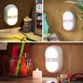 Горячие Продажи Креативный Дизайн Корпуса Датчика Легкий Сон Уход За Детьми Лампа Light-up Игрушки 2 Цвет Выбрать
